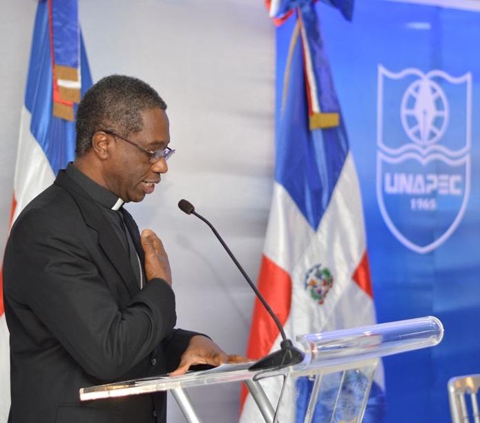 Nuncio Apostólico de su Santidad, Jude Thaddeus Okolo.