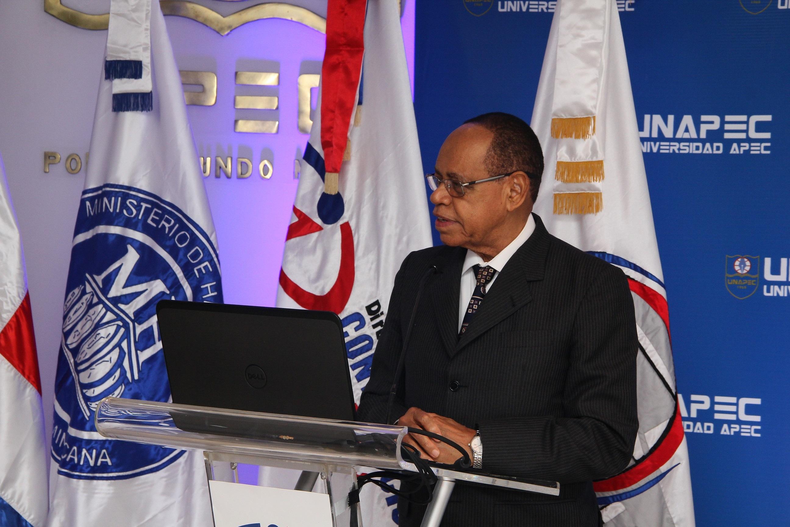 Lidio Cadet Jiménez, director general de la Dirección General de Ética e Integridad (DIGEIG).